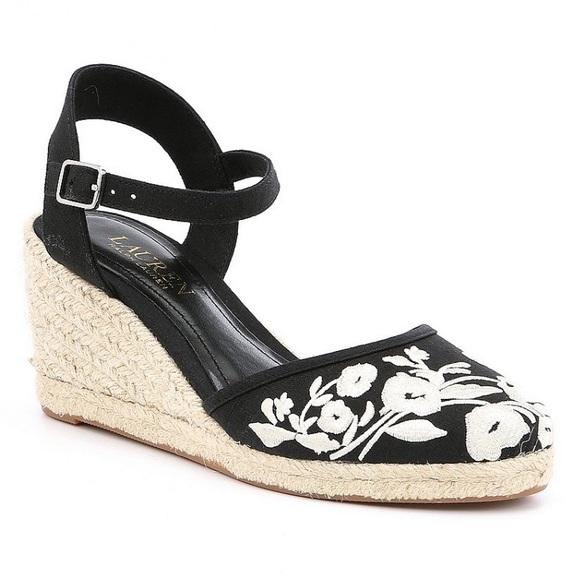 6a095ec91 Lauren Ralph Lauren Shoes - Lauren Ralph Lauren Hayleigh Denim Espadrille  Wedg